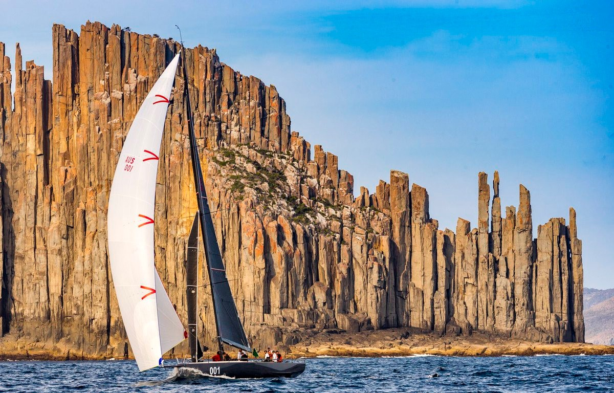 Usher In A Brave New World at the Rolex Sydney Hobart Yacht Race