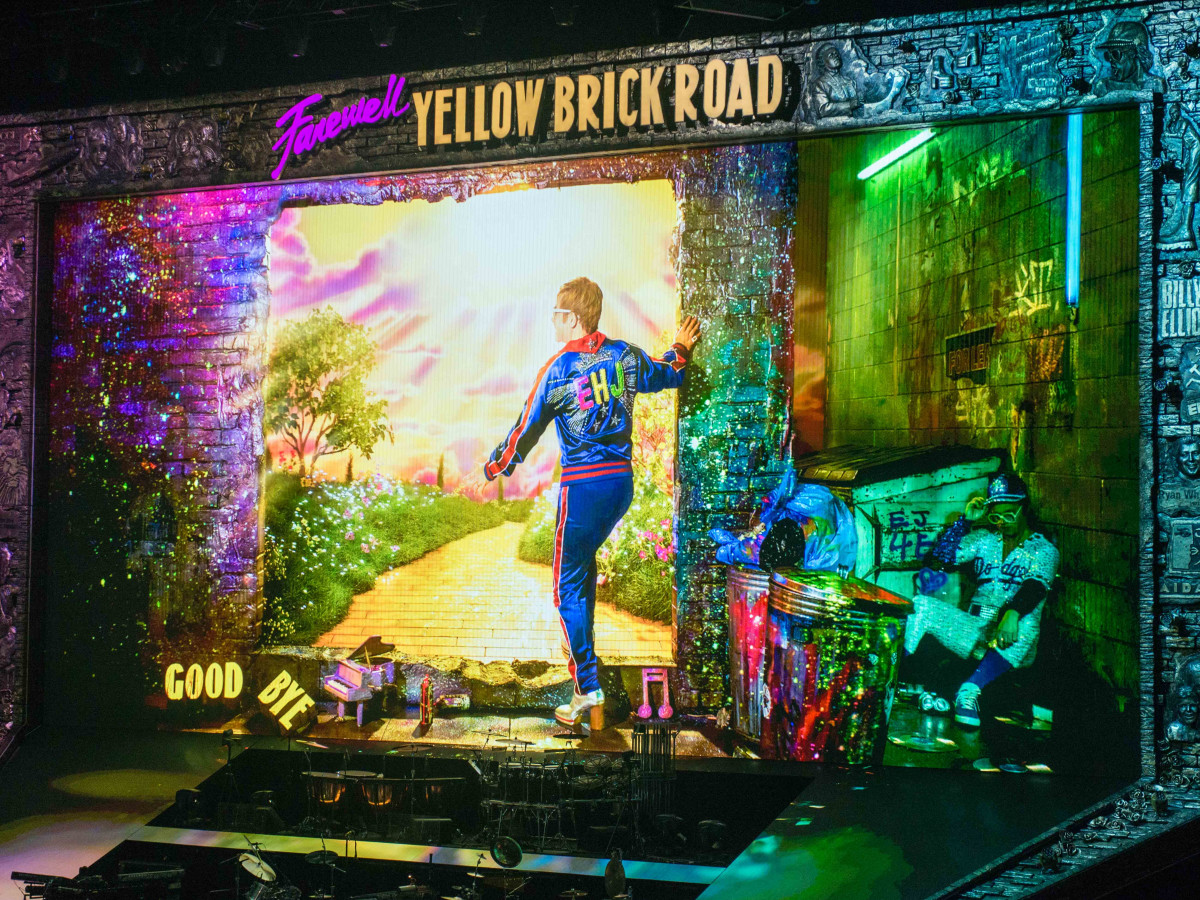 Do it for Selfish Reasons at the Elton John 'Farewell Yellow Brick Road' Tour