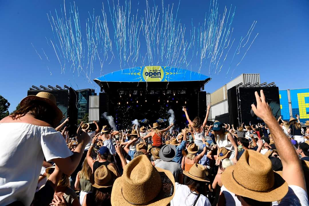 Hark The Herald's Released The 2020 Draw feat. Australian Open Live Stage
