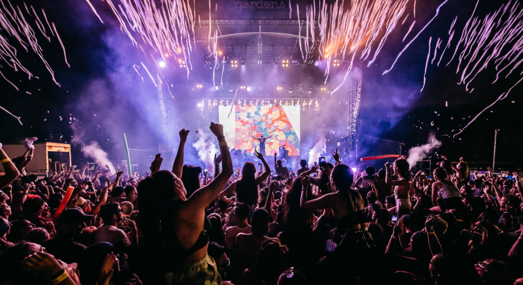 Be Happy or Don't at the Electric Gardens Festival