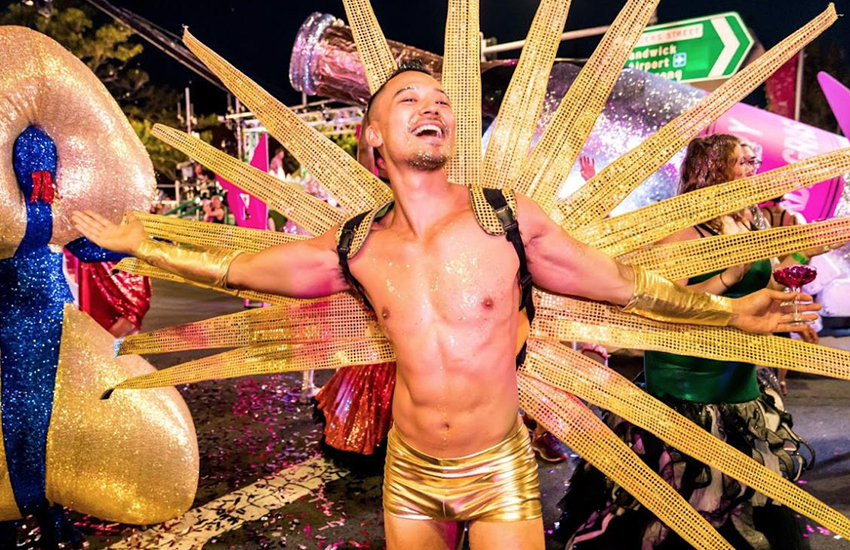 Palpitate Responsibly for the Sydney Gay and Lesbian Mardi Gras